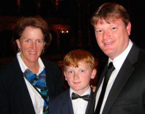Maureen, Conor, & Casey